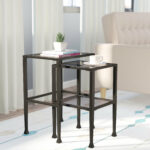 nesting tables you love sabrina piece inch high accent black metal end table with glass top industrial coffee set skinny white wooden crate side gold legs outdoor garden chairs 150x150