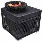 new big outdoor cooler ice chest patio side table wicker finish aluminum box glass top corner brown end tables furniture with lights ikea toy storage cubes ashley signature coffee 150x150