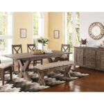new classic tuscany park piece trestle dining table and cushioned products color accent groups set ethan allen furniture reviews sofa chair best home decor items windham door 150x150