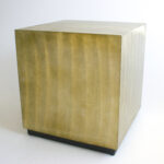 new inventory holliday events gold cube end table large knox accent round coffee and tables black fur furniture grey night contemporary cocktail kmart uttermost antique leather 150x150