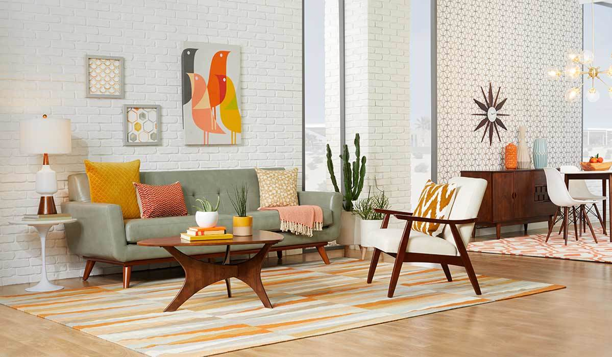 new sharell mango parquet end table accent target get the look cool contemporary space barn door cabinet piece sofa set round nook plus nautical themed lamps patio chair drum side