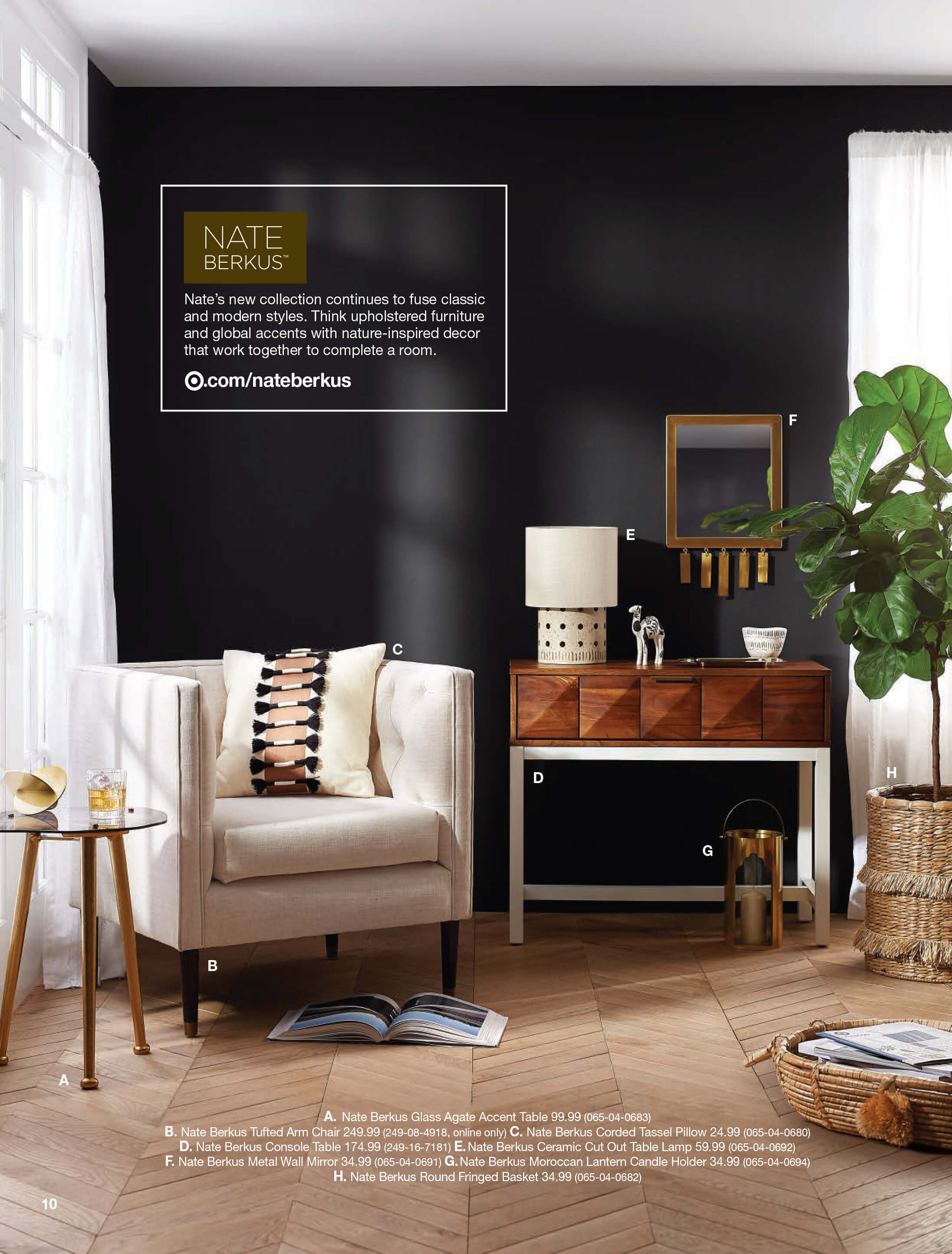new target home product and emily henderson first look spring catalog nate berkus accent table room essentials trestle popular coffee tables ceramic patio side metal frame legs
