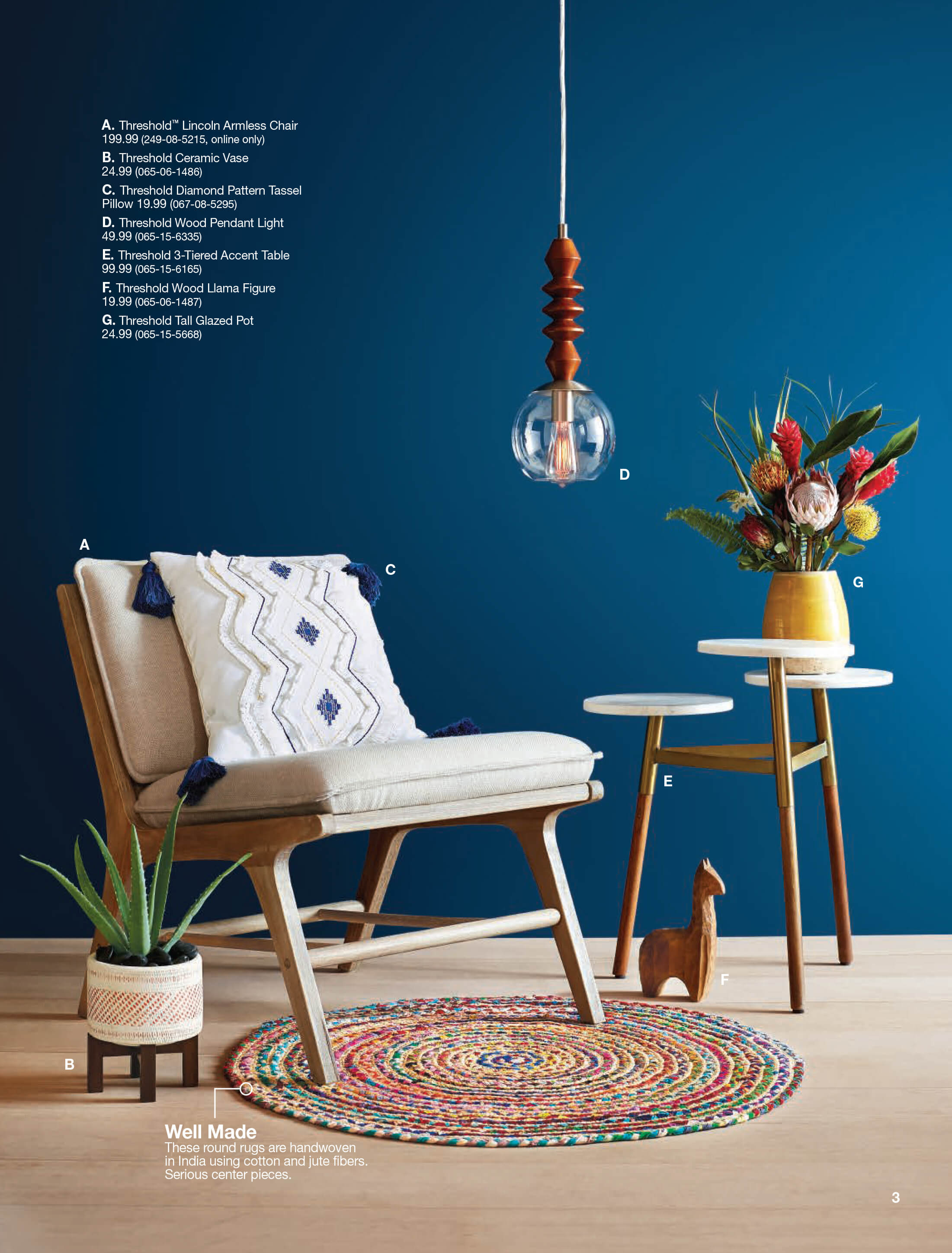 new target home product and emily henderson first look spring catalog teal accent table garden chairs set cane furniture wood chest mini side leick mission threshold console