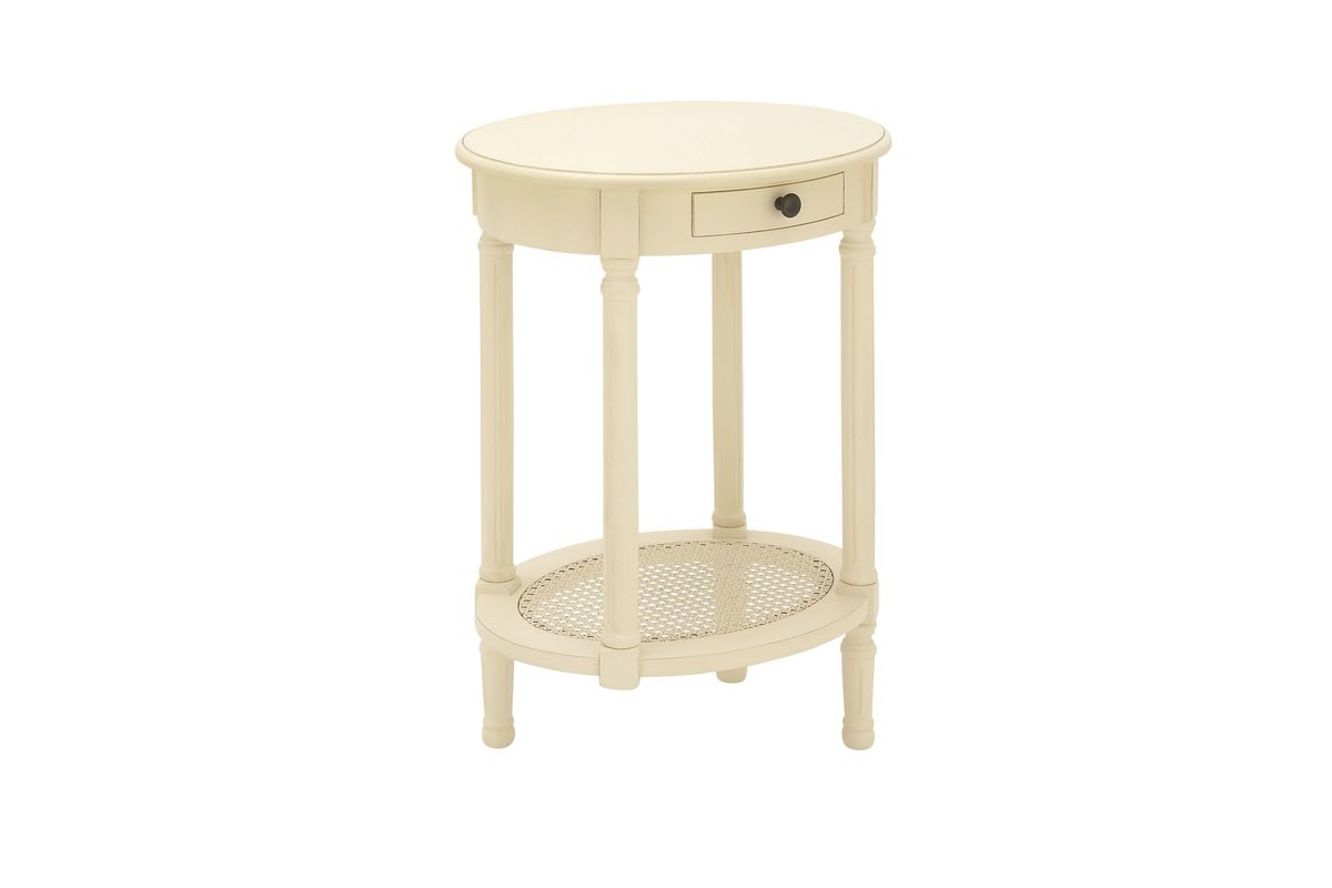 new traditional round accent table cream gardner white from furniture long console behind couch zinc narrow nightstand with drawers west elm stools small metal outside tables