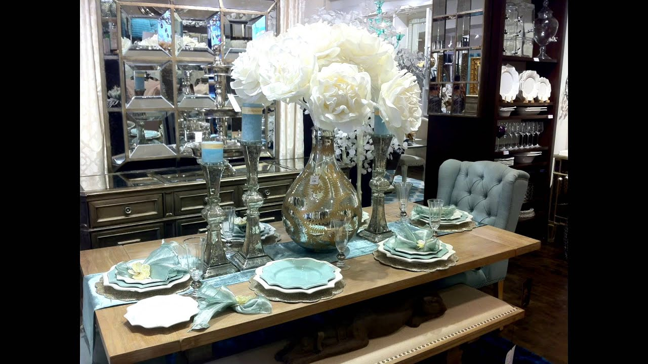 new video tour gallerie spring table settings accent kirklands bar stools small wrought iron outdoor side cotton linens floor lamps teal pottery barn dresser stump coffee piece