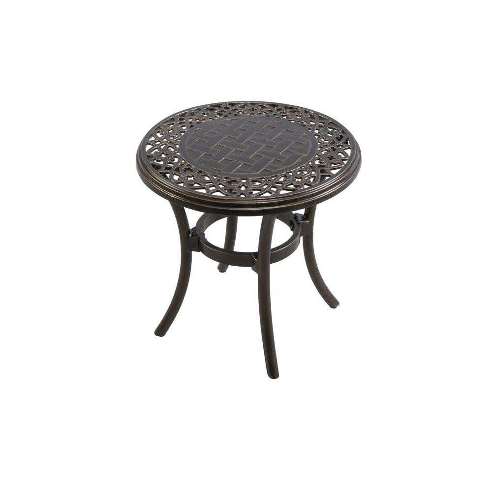 newest outdoor metal end tables for crescent contemporary creative hampton bay niles park round cast top patio side accent mortar and pestle target pewter table wood coffee