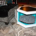 next leather sofas probably terrific beautiful octagon end table makemeprettyagain vintage hexagon gets new life img dog and fresh pet small half circle accent coffee set 150x150