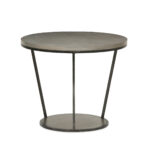 nice black round accent table with frosted glass top popular blair side for cottage amp bungalow metal target tall pub style kitchen grohe europlus narrow wine rack pottery barn 150x150