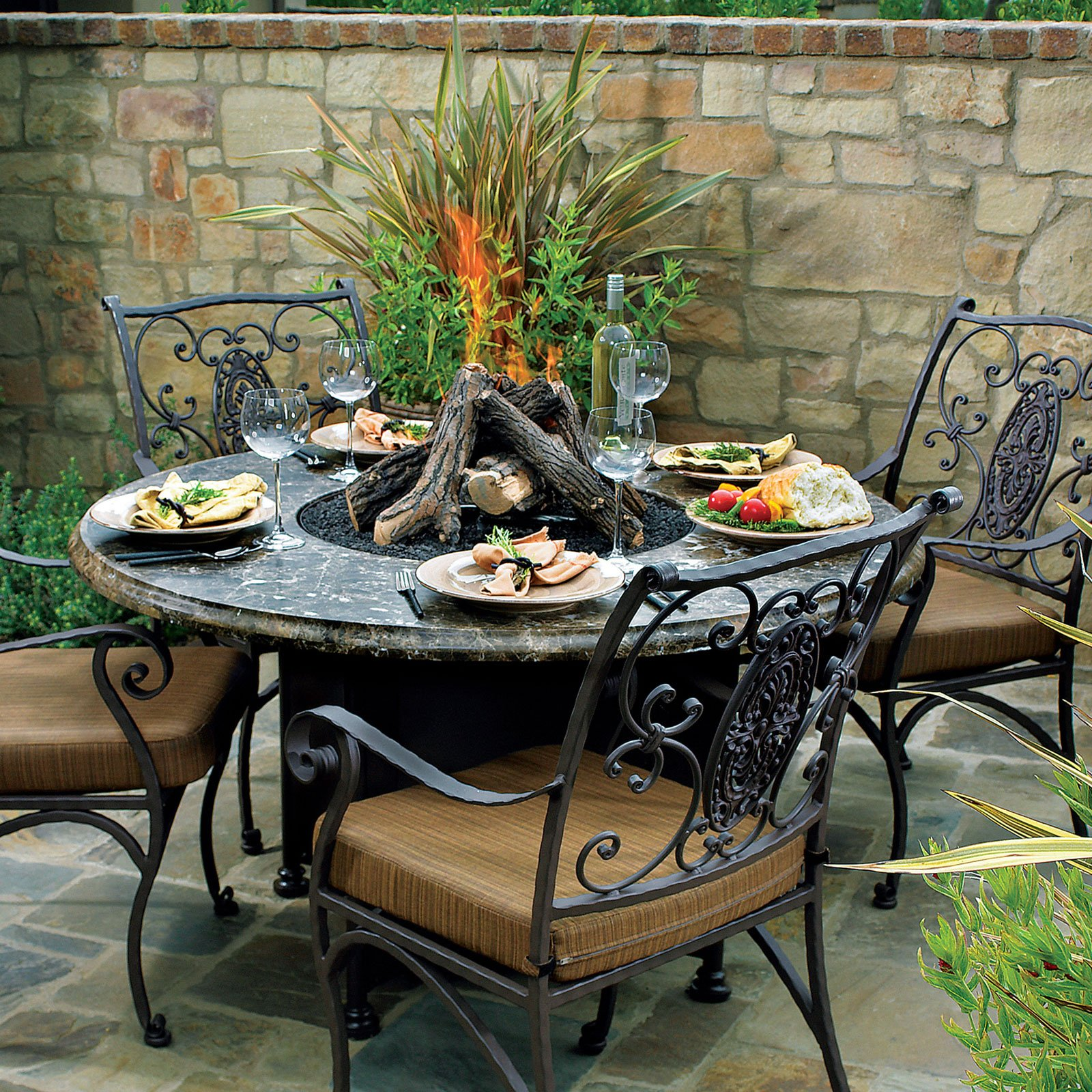 nice ideas gas fire pit tables for inspiring heater design propane outdoor table with patio furniture rectangular por metal accent black and white decorations barista modern