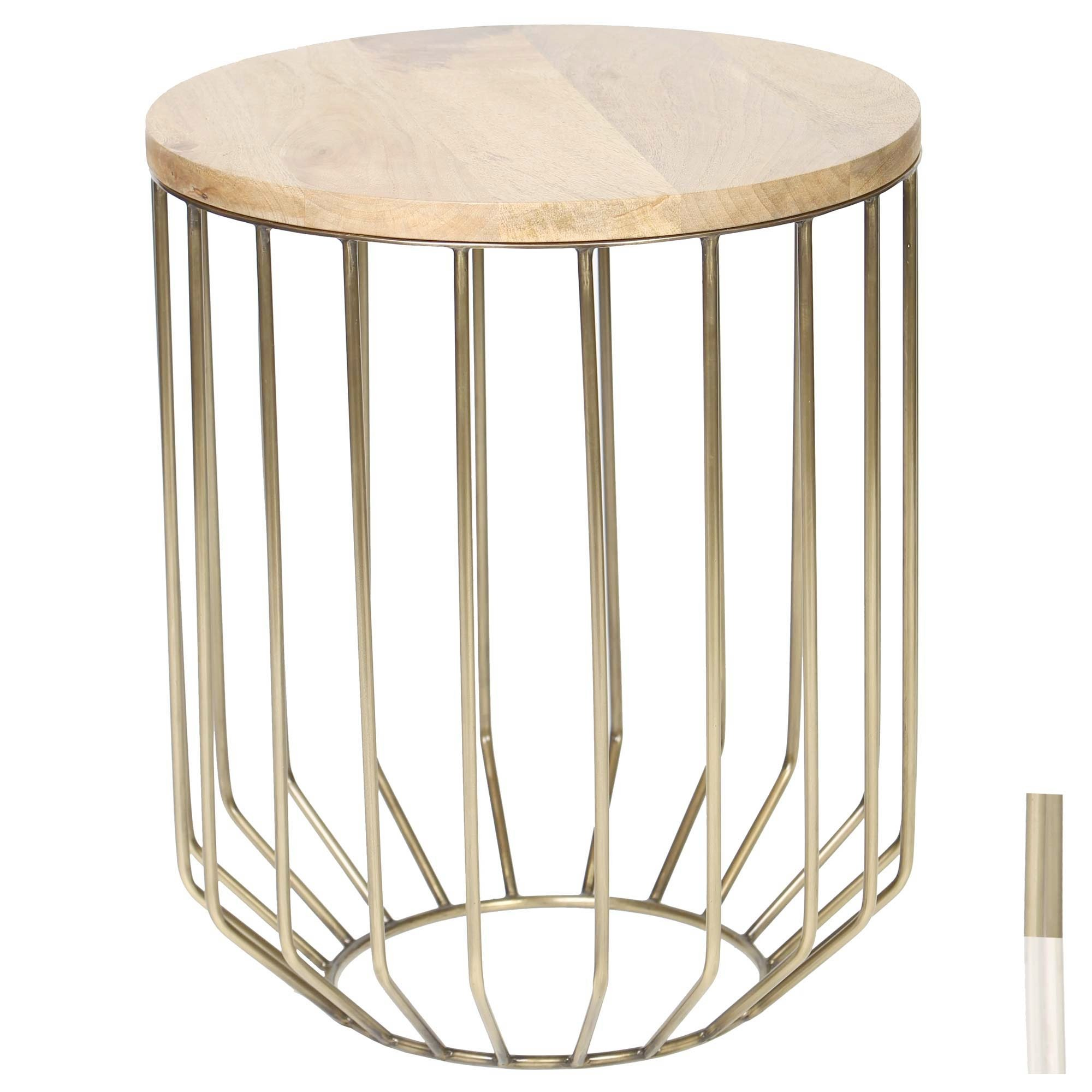 nice iron accent tables tured the wire frame table which features mango wood top and home goods youth furniture colorful lamps windham party bucket porcelain lamp mimosa outdoor