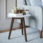 night stand accent table white marble top antique coffee hero solid oak tables wood base retro furniture mango sideboard with matching end metal legs mirror side bedroom crystal 150x150