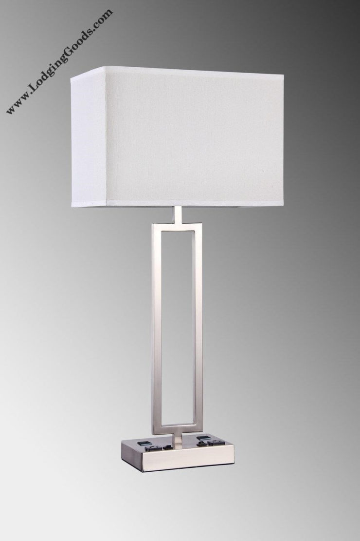 night stand lamps with usb ports mesmerizing outstanding lodging goods american hotel products motel supply inside graphs for our dream residence heyburn brushed steel accent