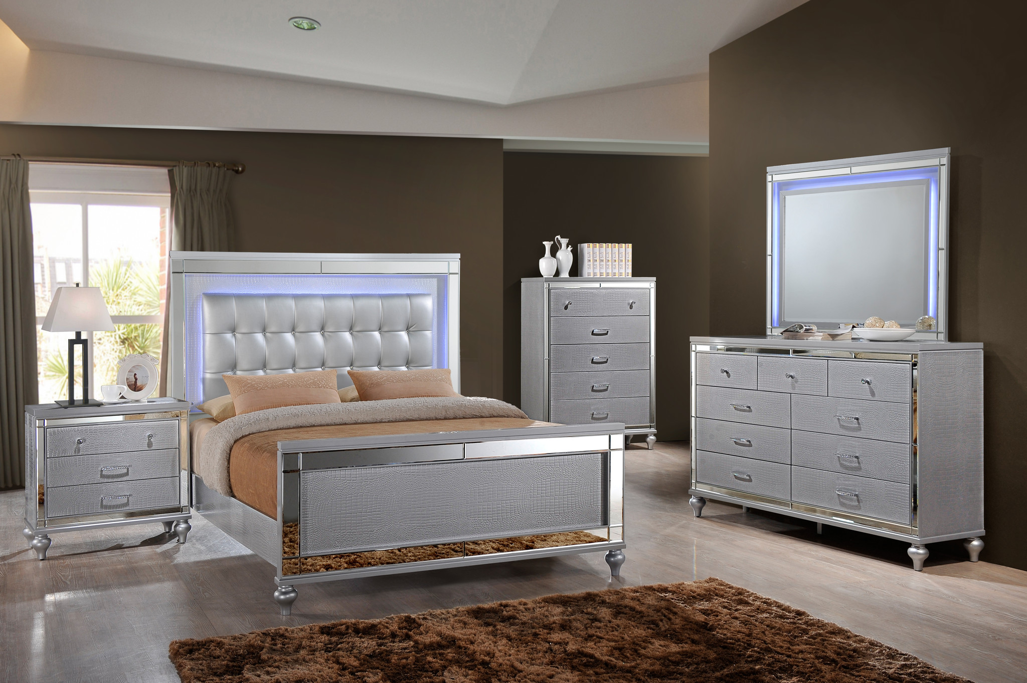 nightstand mirrored dresser ikea nightstands stylish frame mirror flex flat sheet target bedroom set sets valentino adams furniture the company packages threshold accent table