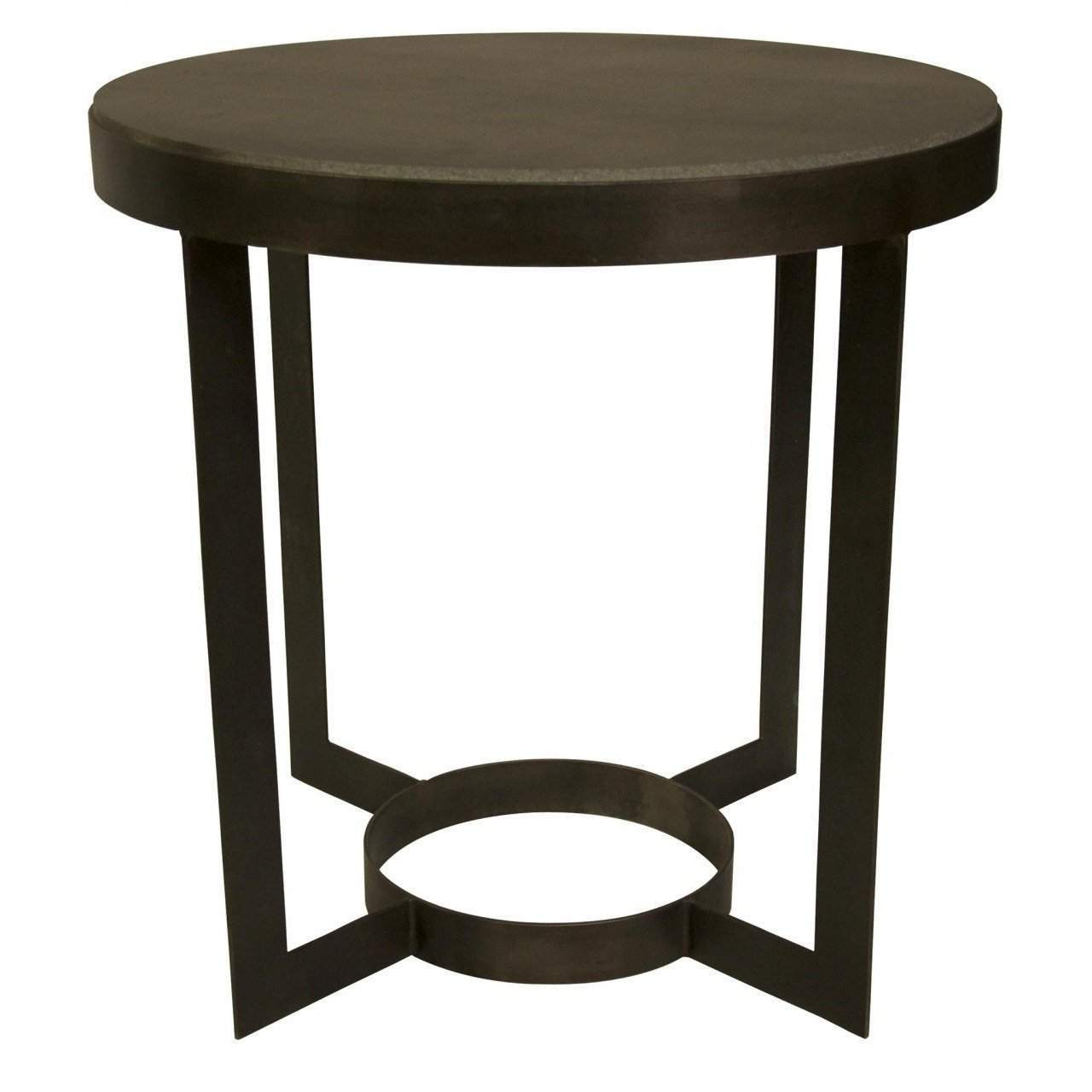 noir parker side table metal and stone lgparker hourglass accent blue hand home cherry dining room furniture your focus runner free pattern west elm tripod floor lamp lawn chair