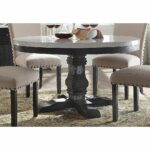 nolan dining table with pedestal white marble salvage dark oak accent lanterns target set knotty pine desk pier imports coupon off total entire purchase new vintage furniture 150x150