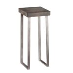 nolan pedestal accent table contemporary metal side tables small with drawer and shelf end drawers pier one outdoor rugs black coffee glass top white set modern marble chair light 150x150