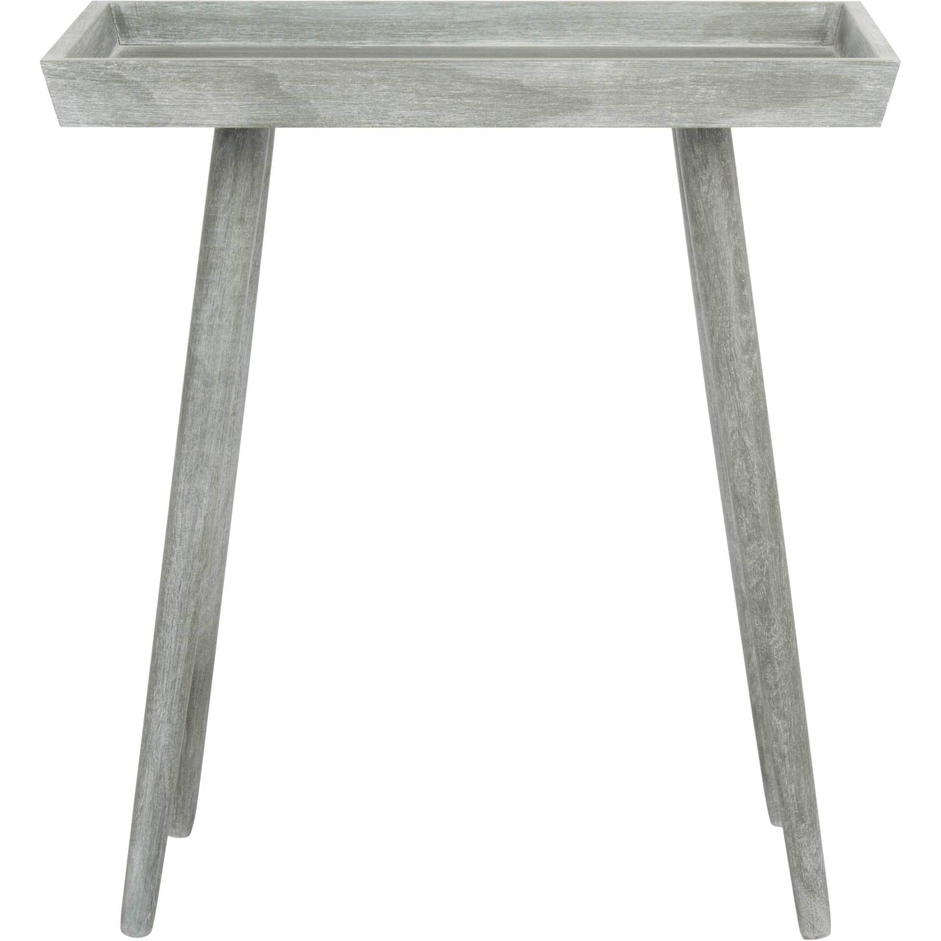 nonie tray accent table slate gray froy front metal bedside with drawer outdoor dining umbrella coffee small decorative cloths pier coupon code round tile queen frame black marble