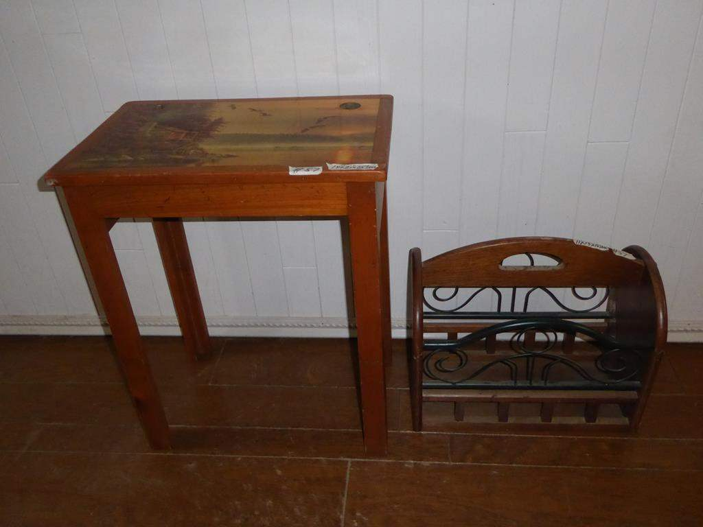 norcal estate auctions liquidation lot accent table with magazine holder ducks unlimited end rack modern couch coffee wheels ikea doors outdoor patio furniture antique pine corner