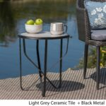 norfolk outdoor inch ceramic tile side table christopher knight home free shipping today mila square accent barn door ideas glass chairside mirrored cube coffee cool nightstands 150x150