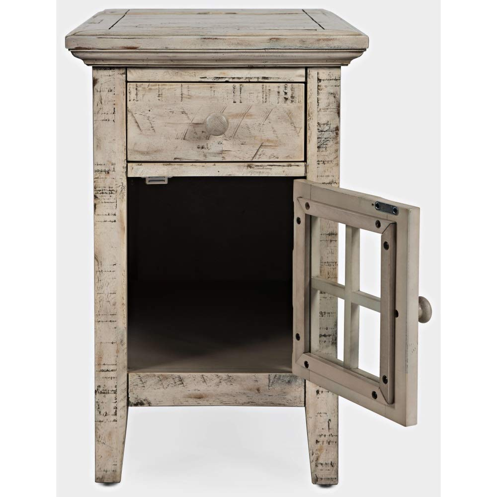 not use rustic shores power chairside scrimshaw jofran accent table with charging station kitchen dining pier end tables furniture leg extensions tiffany butterfly lamp ikea