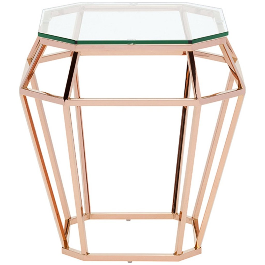 nuevo living diamond side tables benjamin rugs furniture mirrored accent table new home decoration sofa for small space room storage chest with drawers pottery barn square coffee