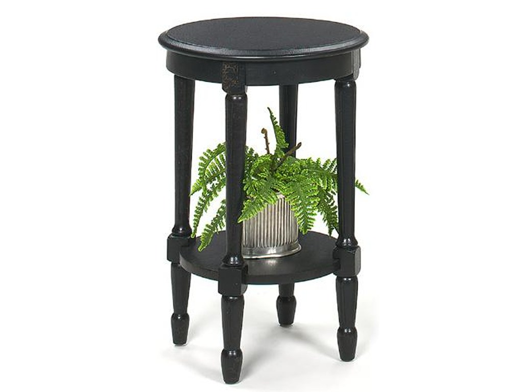 null furniture international accents round black crackle accent products color turned leg table threshold accentsround end childrens nic dining room tables for small spaces rustic