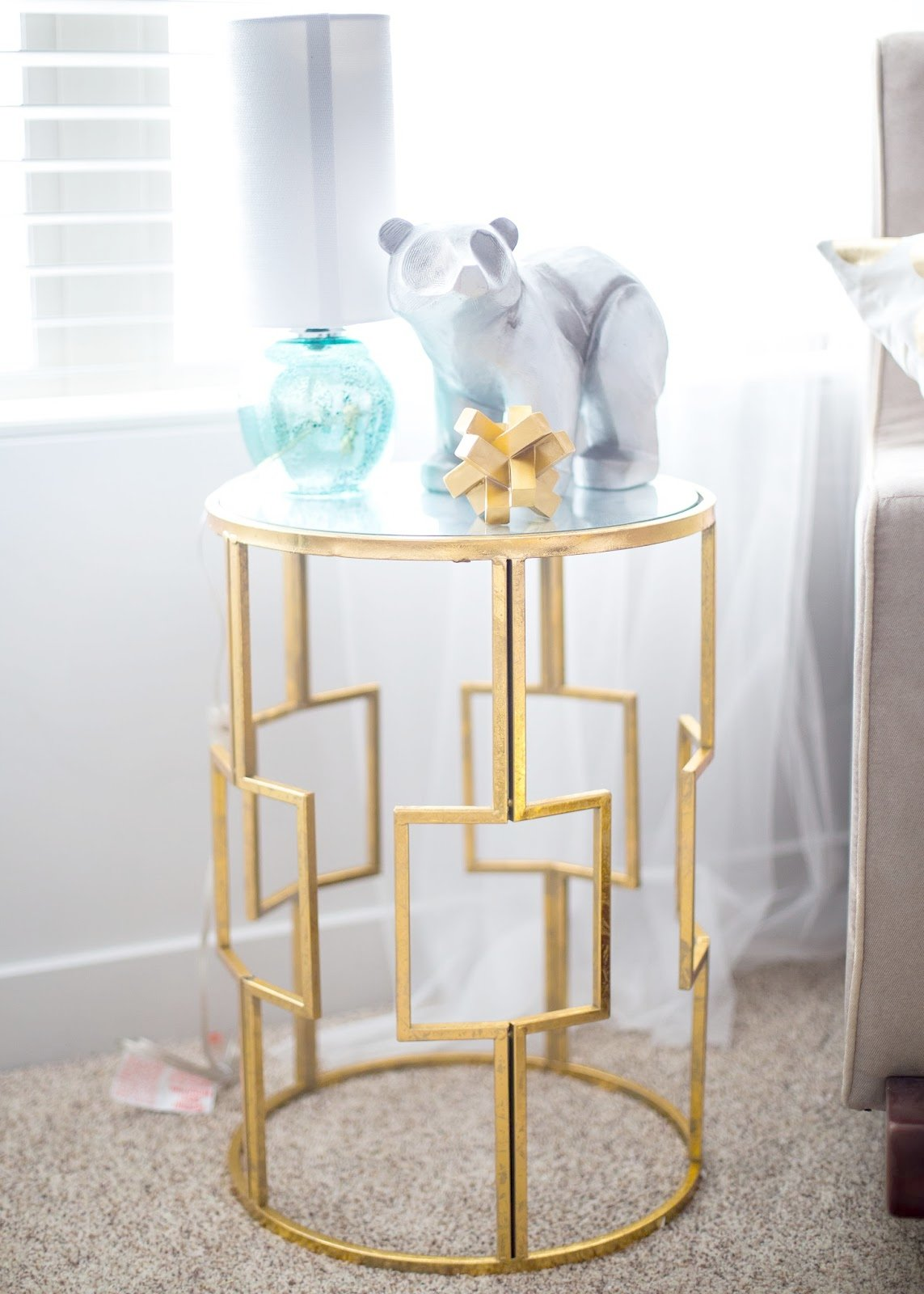 nursery accent table baby girl ideas reveal the red closet bedroom packages oak telephone glass and mirror coffee mid century modern end tables half wall dark wood trunk teak