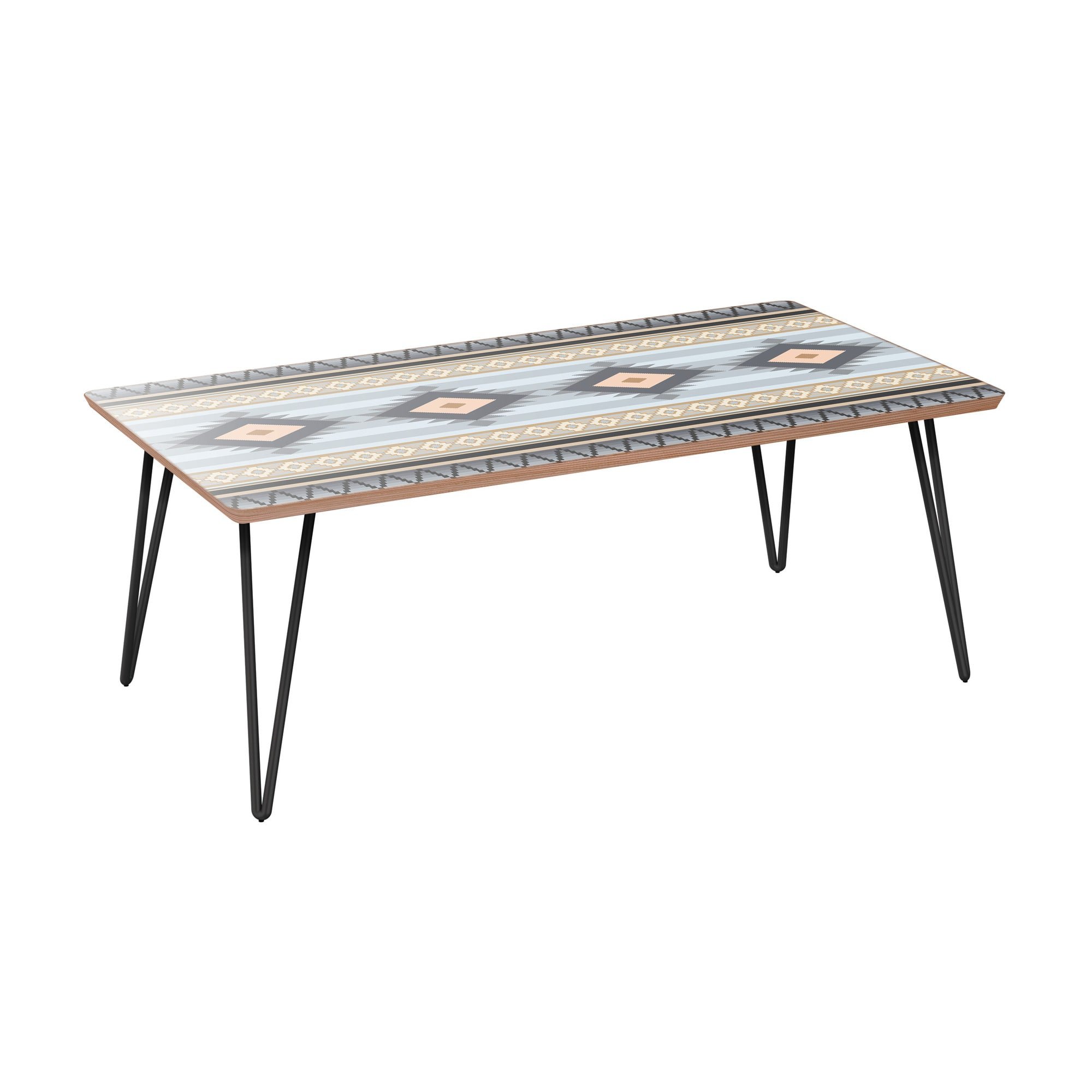 nye koncept brixton desert winter walnut hairpin coffee table with nyk room essentials accent black base designer tables thin cabinet usb port furniture solid oak threshold piece