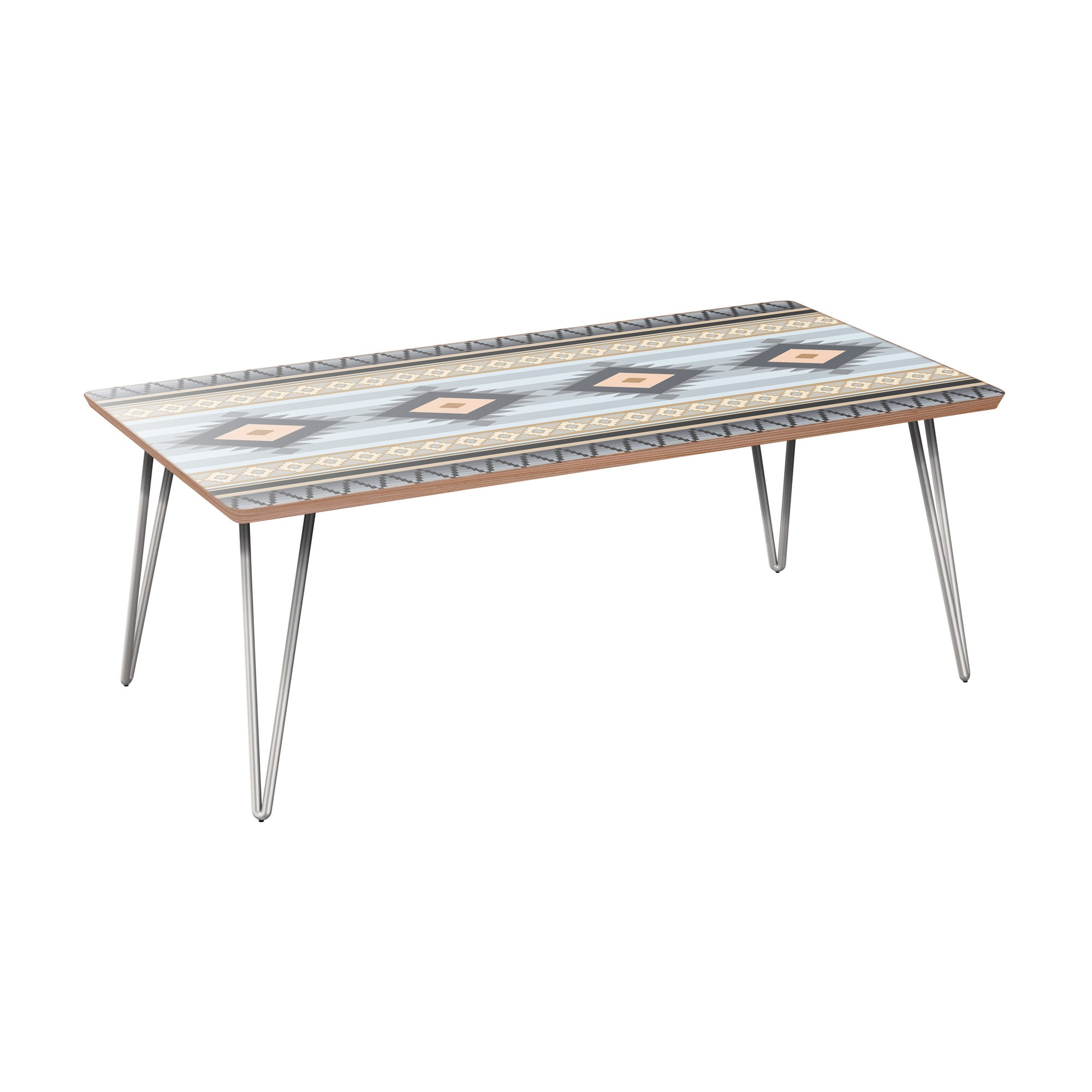 nye koncept brixton desert winter walnut hairpin coffee table with nyk room essentials accent chrome base tablecloth for square pottery barn metal antique drop leaf value small