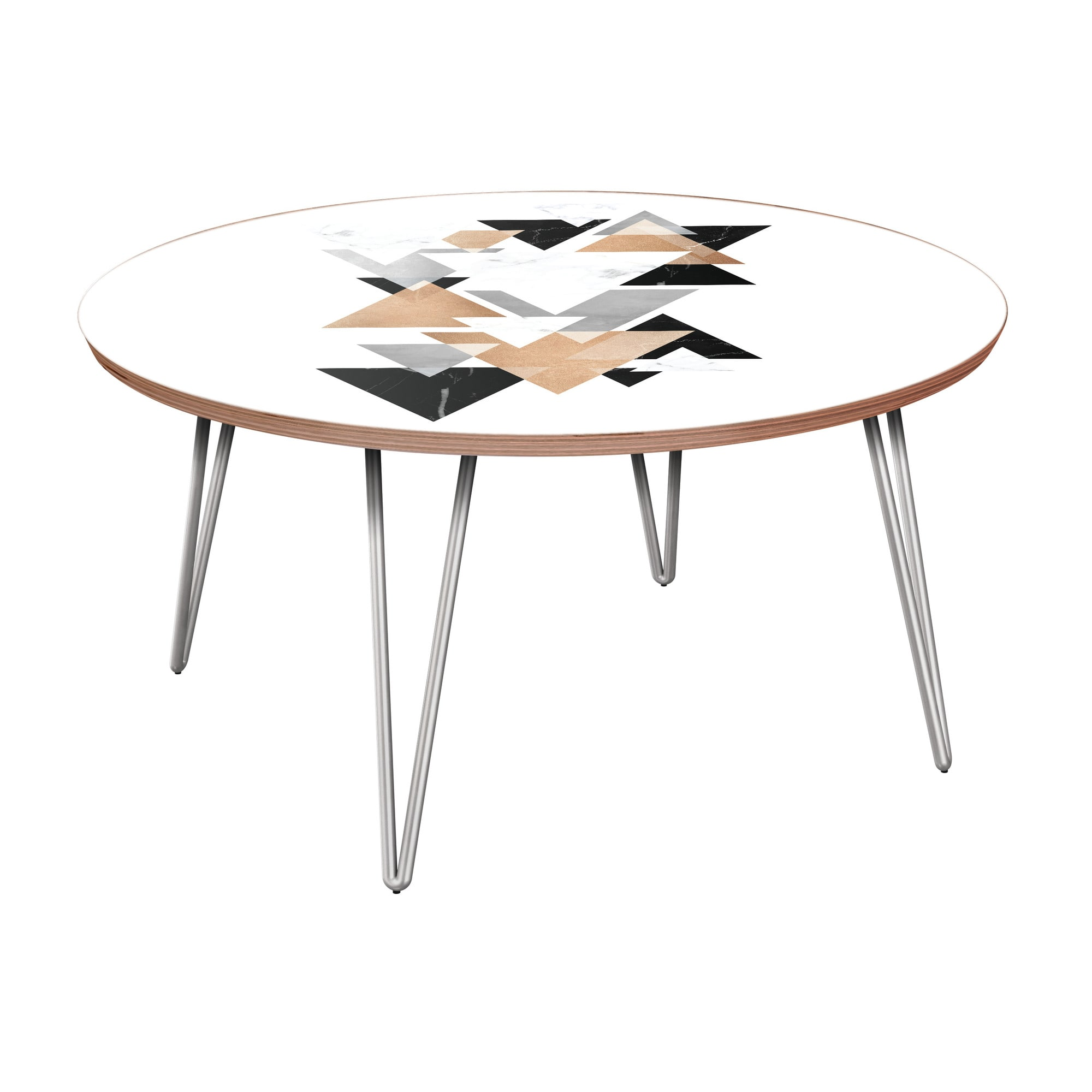 nye koncept stella marble gold walnut hairpin coffee table with nyk room essentials accent chrome base thin cabinet rustic nest tables square toronto vanity foldable wicker brown