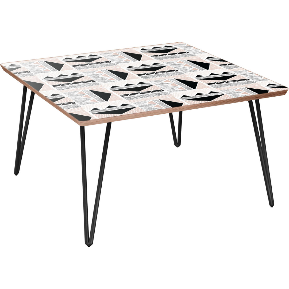 nyekoncept mason hairpin coffee table mudcloth print room essentials accent walnut black legs metal kitchen rustic small ideas drum throne pearl side with lamp attached vanity