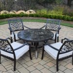 oakland living stone art piece chat set with cushions middletown accent patio table marble furniture pub chairs white metal garden battery power pack for lamp kitchen vanity 150x150