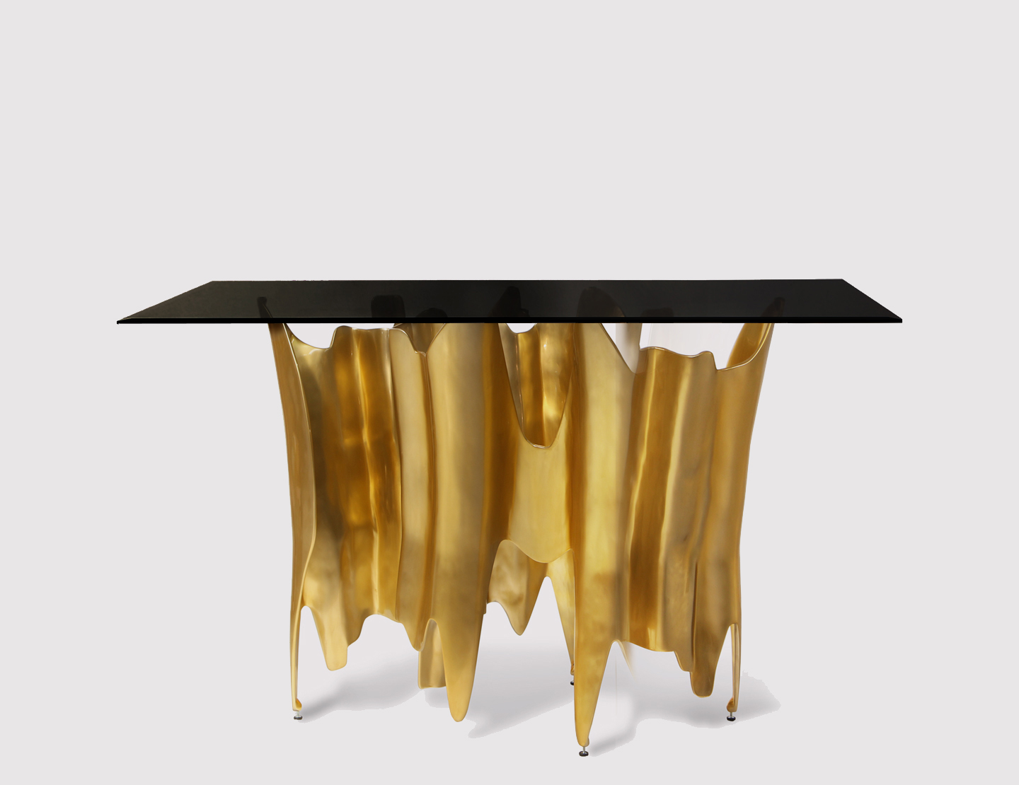 obssedia console luxury table koket zoom big gold accent dining patio garden rattan coffee side cloth inexpensive tables cordless lamps home goods sets round hammered metal