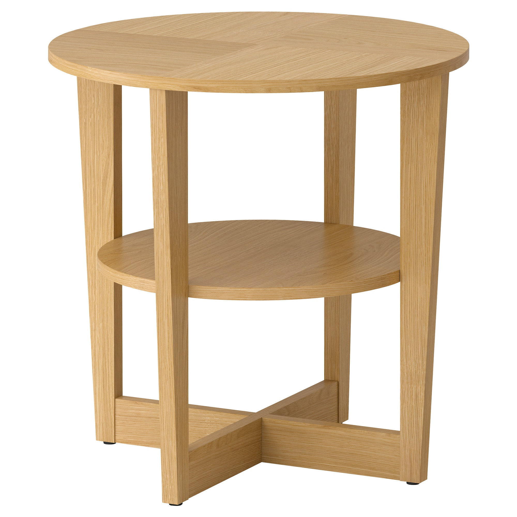 occasional tables tray storage window ikea vejmon side table oak veneer red round accent the veneered surface durable stain resistant and easy keep nautical lighting ideas