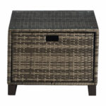 oceanside outdoor wicker side table brown antique green pier one mirrors glass lamps for bedroom lucite coffee base monitor stand slim console with drawers large round dining 150x150