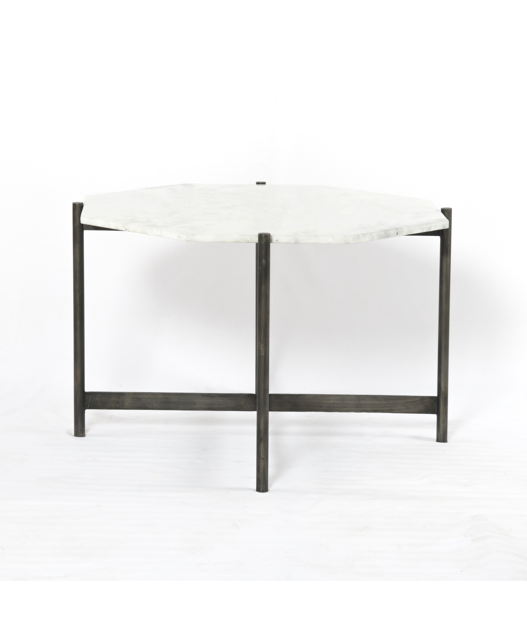 octagonal marble accent table black kids bedside glass legs silver mirrored coffee modern nightstand lamps entrance corner foyer pier one furniture high pub with lamp attached
