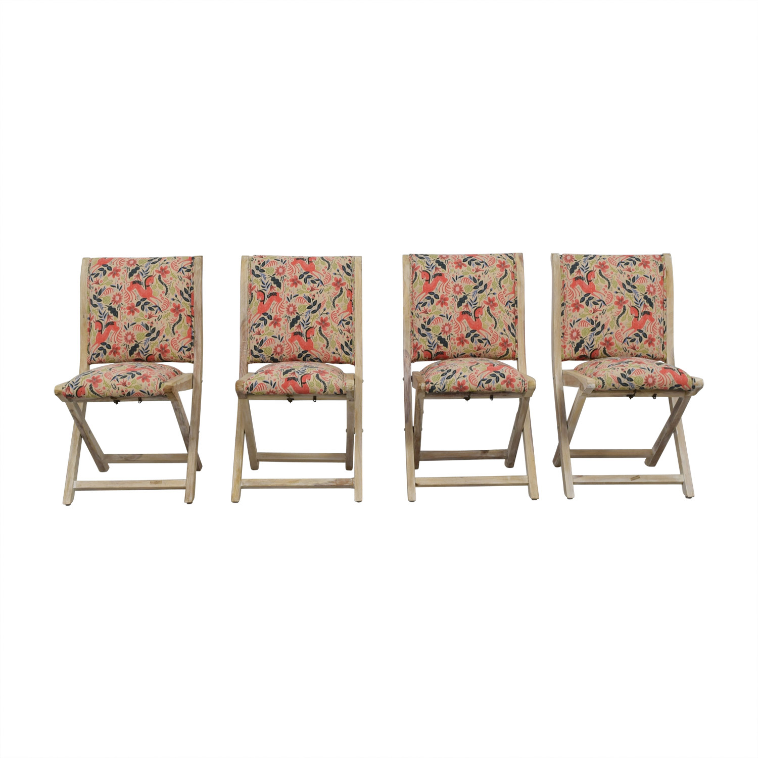 off anthropologie rustic multi colored unicorn folding chairs accent table lucite glass coffee granite top end tables versailles furniture steel patio large dining room bedroom
