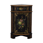 off antique black hand painted single drawer corner cabinet accent table tables small white desk designer lamp retro modern chairs outdoor furniture calgary cube storage unit ikea 150x150