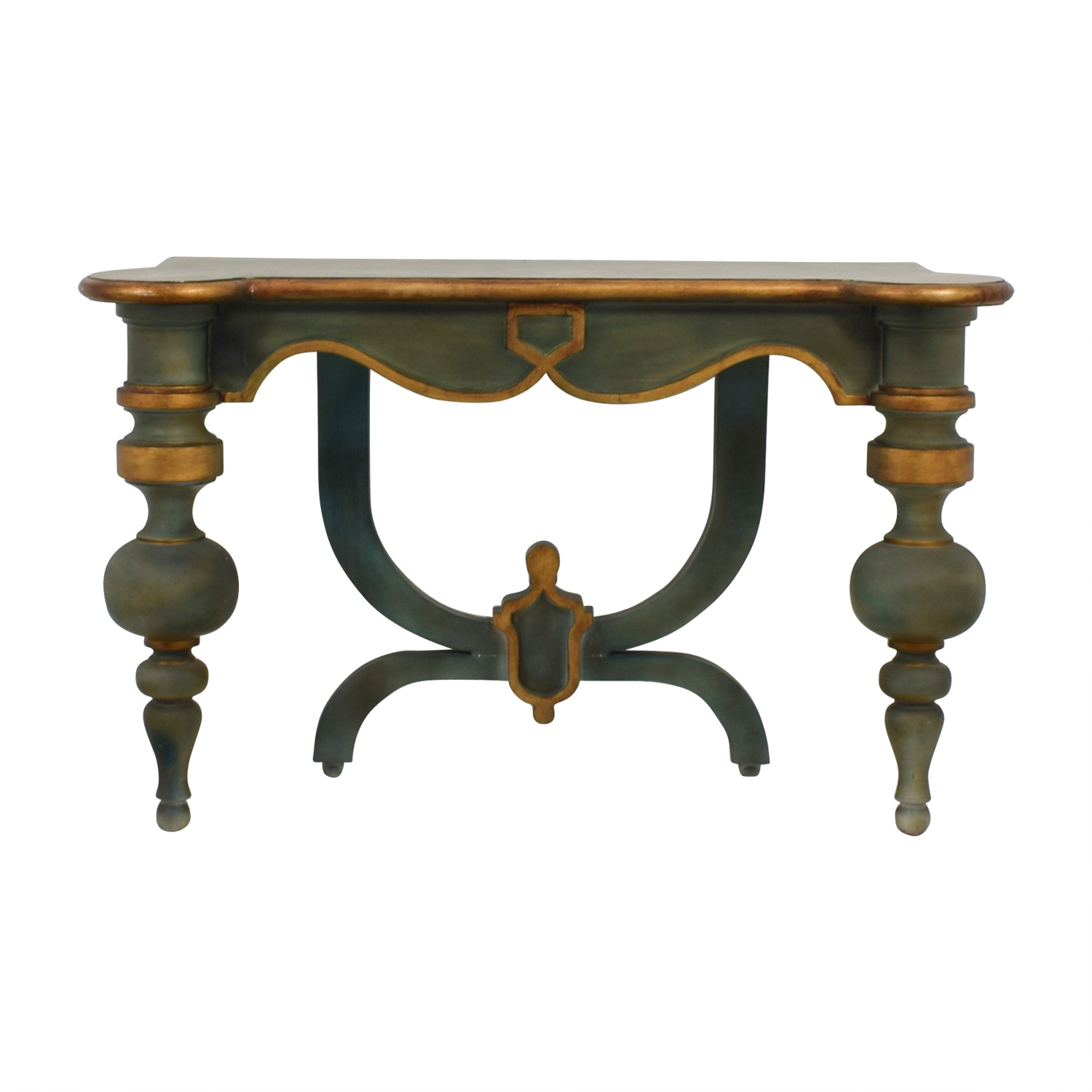 off antique green carved wood foyer entry table console accent tables agate white round mosaic outdoor and chairs nightstand with charging station stacking target skinny turquoise