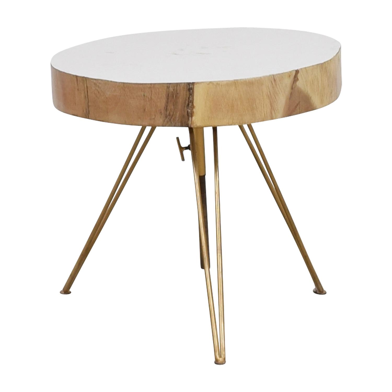 off biarritz suar white wood and bronze iron accent table storage chest rustic pine furniture designs diy pulaski corner curio cabinet pub garden dining room bar ideas retro
