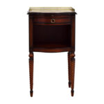 off bombay marble top with gold trim wood accent table drawer used old kitchen tables beach bedroom decor real coffee black rustic end metal hairpin legs wall unit furniture 150x150