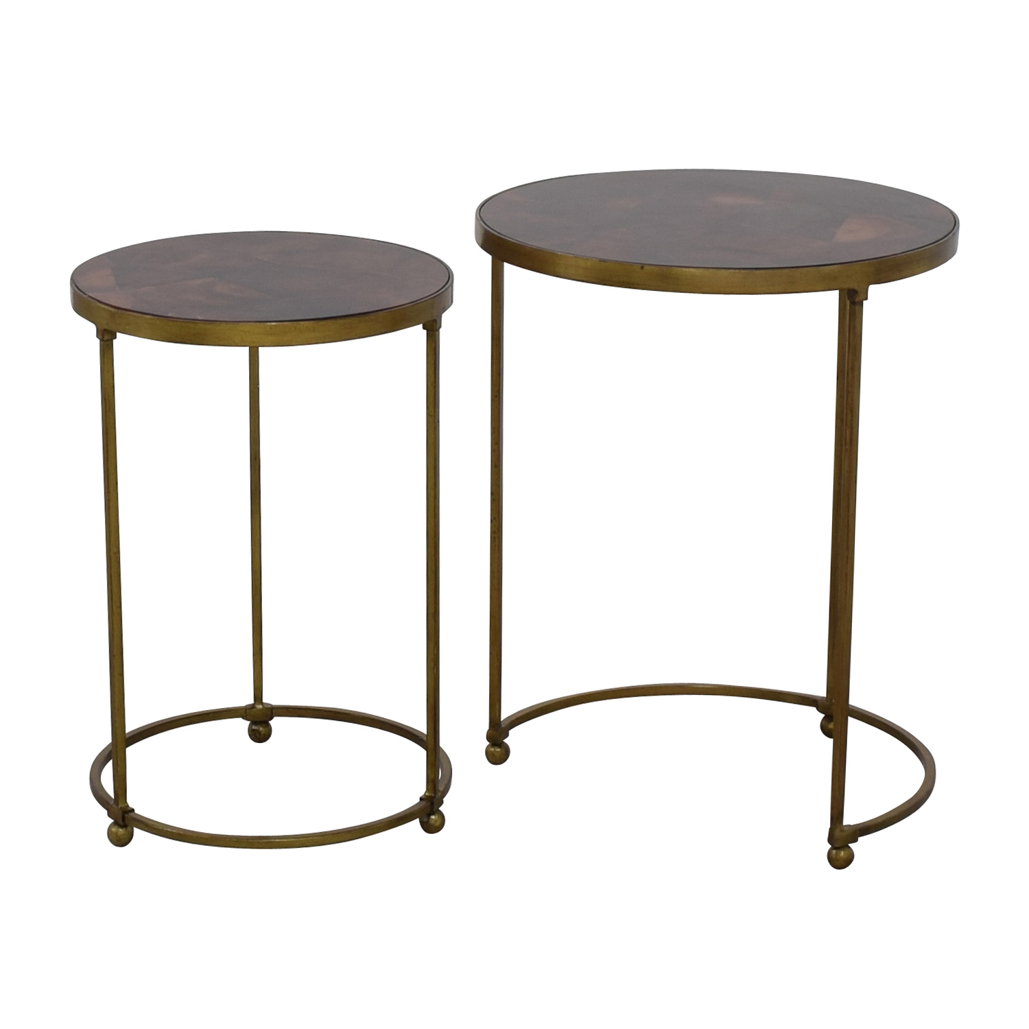 off carpet and home nesting round bronze brass accent tables table beach hut accessories furniture reviews nic set bunnings solid wood end with drawer gold legs patio umbrella