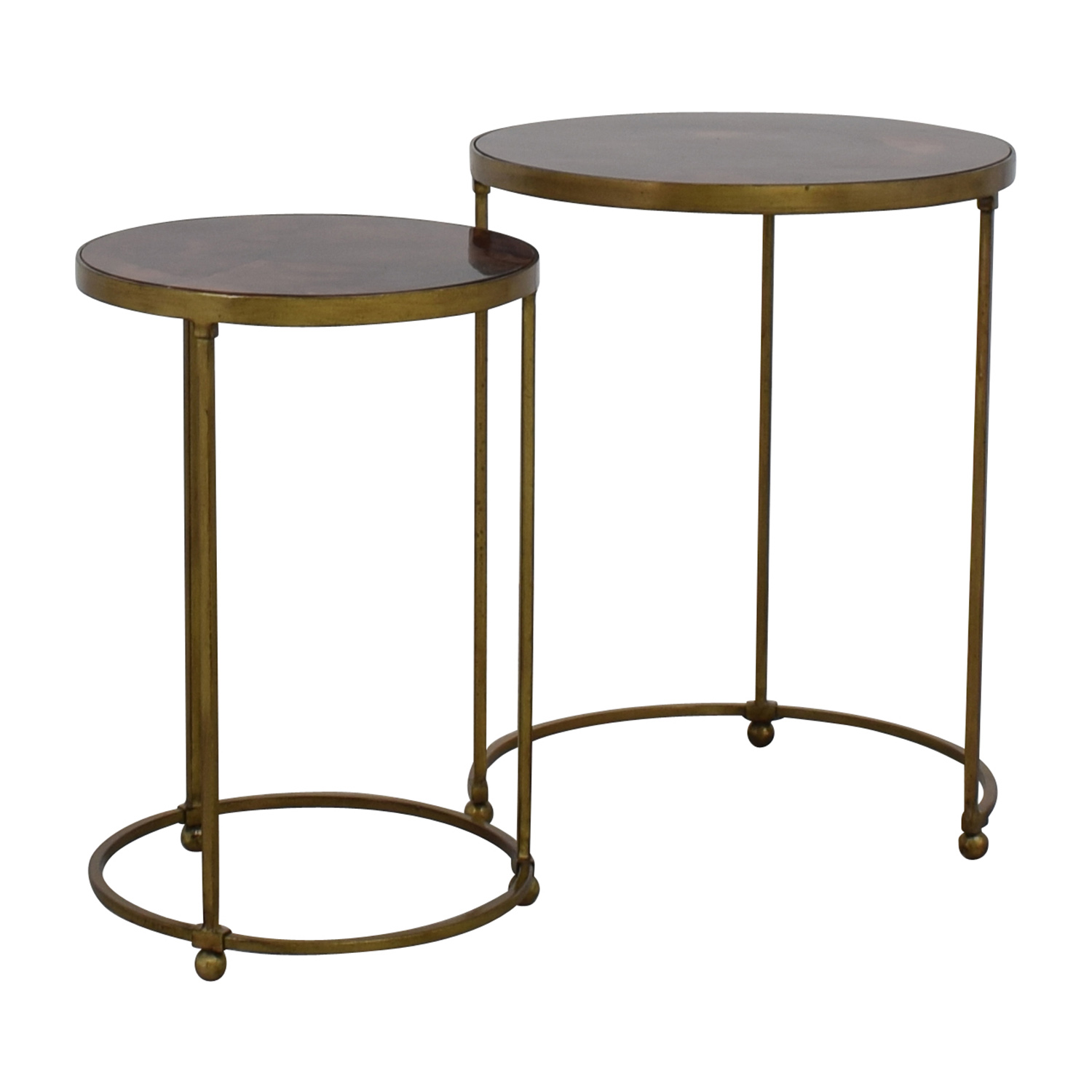 off carpet and home nesting round bronze brass accent tables table drop leaf coffee kitchen chairs exterior door threshold oak nightstand compact dining set black with drawers