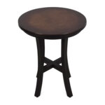 off crate and barrel copper top side table tables second hand accent base brown living room furniture kids folding nic wooden garden coffee with sides faux marble homemade low 150x150