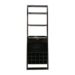 off crate and barrel leaning wine rack storage second hand accent table with double vanity shelf skinny ikea modern stacking tables solid teak coffee high end side white red chest 150x150