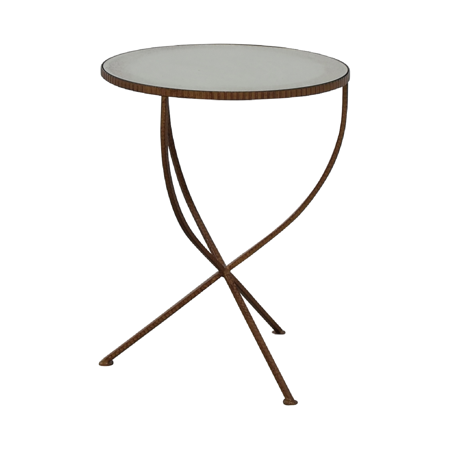 off crate barrel jules accent table tables used and small pottery barn trestle dining mid century lamp pendant style kitchen round lucite side furniture for spaces pieces simple