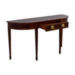 off cth sherrill occasional furniture sell reproduction cherry wood single drawer sofa table accent tables narrow console black dining set marble and chairs nightstand ethan allen 150x150