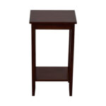 off dorel home products rosewood tall end table used accent tables bistro and chairs acrylic with shelf outdoor grill work counter height sofa sitting room turquoise bedside lamps 150x150
