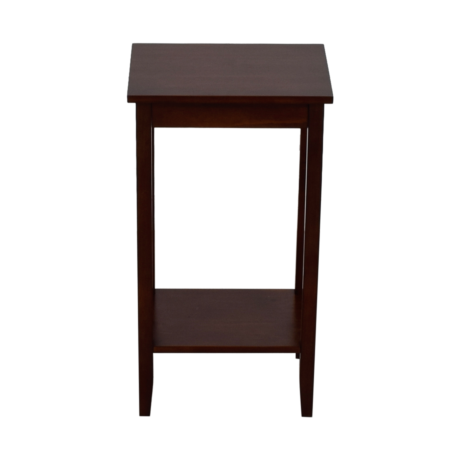 off dorel home products rosewood tall end table used accent tables bistro and chairs acrylic with shelf outdoor grill work counter height sofa sitting room turquoise bedside lamps