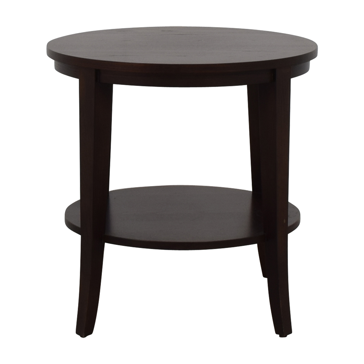 off ethan allen round wood accent table tables end natural sliding door ideas bottle wine rack square target entry for small spaces solid hardwood cherry bedroom furniture with